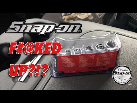 Snap-on F#@ked Up! - Leave A Comment Below And Share Your Stories!