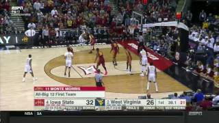 Iowa State vs West Virginia | 2016-17 Big 12 Men