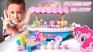 Mainan Dorongan Es Krim Shop Dan Permen Lolipop, Ada Little Ponny | Mainan Anak Laki-laki Perempuan