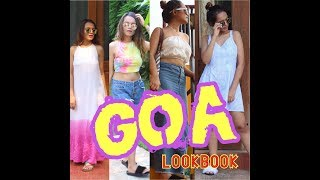 GOA LOOKBOOK | Beach vacation outfit ideas| #FabhipsterTravels | Kashish Chhabda