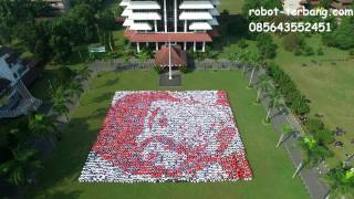 Aerial Video   Formasi MABA UPN 2016