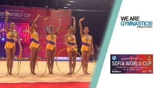2019 Sofia Rhythmic Gymnastics World Cup – Highlights Group competition
