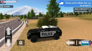 Police Car Driving Offroad / Suv 4x4 Police Car Games / Android Gameplay Video