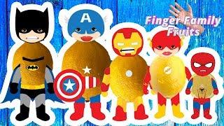Superheroes Finger Family Collection | Finger Family (Avengers & Batman)Finger Family Rhymes