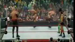 2009 Battle Royal The Legacy vs Santino Marella vs Kofi Kingston vs Kane
