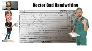 Why do Doctors have BAD Handwriting Secrets