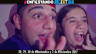 El Apache Ness - #EnfistandoArgentina  28, 29, 30 #Noviembre 2 #Diciembre #BuenosAires