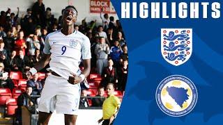 England  U21 5-0 Bosnia-Herzegovina U21 (Euro-17 U21Q) | Goals & Highlights