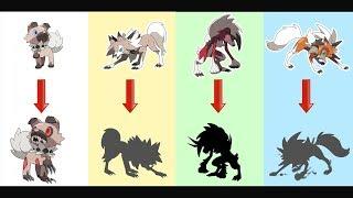 Lycanroc Evolution As Monster.
