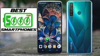 Top 5 Best Phones New with 5000mAh Battery In 2019