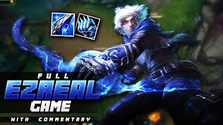 Gosu - FULL INFORMATIVE EZREAL GAME COMMENTARY