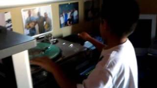 DJ Emmy Scratching 3-15-2011