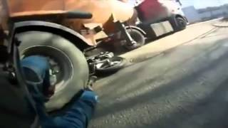 Motorcyclists Cheating Death Compilation   FNF