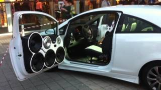 Impianto audio Opel Corsa Anteprima Fast and furious 6 Maxbass tuning club