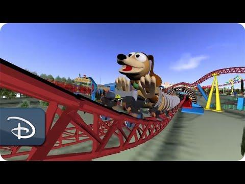 Slinky Dog Dash Attraction Concept Toy Story Land Walt Disney World