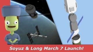 Soyuz & Long March 7 Launch! | MS-04 & Tianzhou-1 | kNews W.16/2017