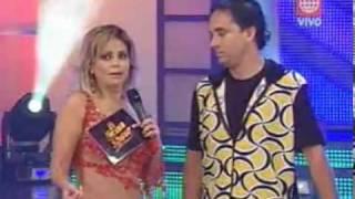 Baile de Gisela Valcárcel y Roberto Martínez