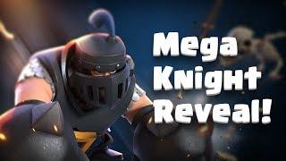 Clash Royale: MEGA KNIGHT! (New Legendary Card)