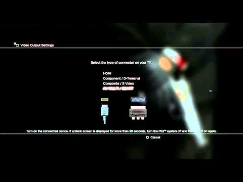 PlayStation Help: How to change your PS3 Display settings without seeing your screen?