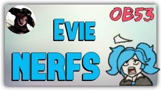 [Paladins] Evie Nerfs / Internal Issues at Hi-Rez? (see Desc)