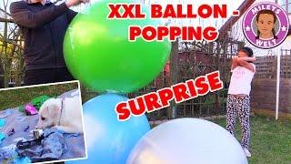 XXL BALLOON POPPING SURPRISE unboxing Frozen Fashems ... | MILEYS WELT