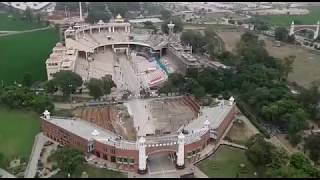 Drone View Pakistan And India Border