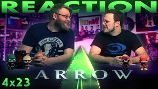 Arrow 4x23 FINALE REACTION!!