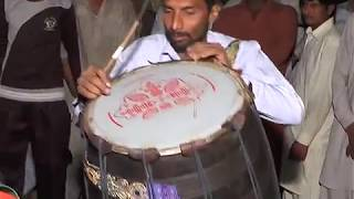 beautful dhool performance  on Urs mubarik pakistan 2016 sarghodha