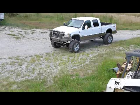 Lifted King Ranch Powerstroke on 38s