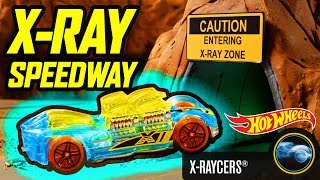 X-RAYCERS® COMPETE ON THE X-RAY SPEEDWAY | Hot Wheels