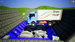 Lego Vehicle Into Crushing Machine #2 - Brick Rigs