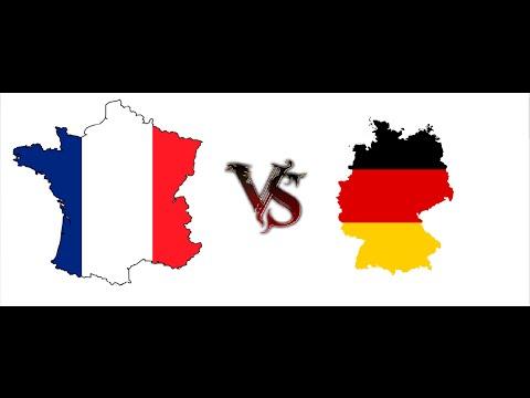 France vs Germany war simulation