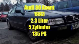 Test Audi 80 Avant 2.3l 5-Zylinder