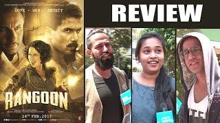 Rangoon Movie Public Review - Shahid Kapoor, Saif Ali Khan & Kangana Ranaut