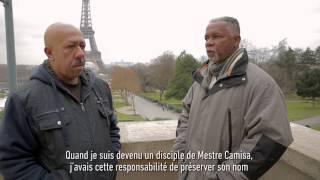 ABADA CAPOEIRA 2015   ENTREVISTA MESTRE NAGÔ e BOA VOZ em PARIS   Interview Festival Capoeiraizes