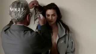 Irina Shayk and Cristiano Ronaldo for Vogue Spain