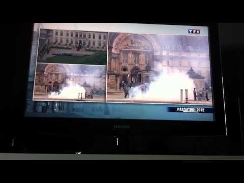 Passation 2012 Cérémonie. TF1