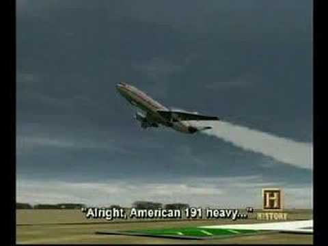 AA American Airlines DC 10 Accident flight 191
