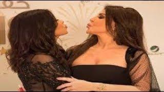 فضيحه شريين عبد الوهاب واليسا فى حفل خاص