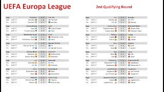 Таблица лиги европы по футболу 2017-2018