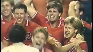 Olympics - 1984 Los Angeles - Volleyball - Mens Finals - USA VS Brazil  & In Studio Player Interview