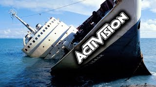 Activision is a sinking ship, will cut HUNDREDS of jobs