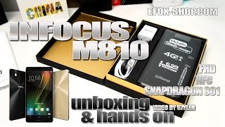 InFocus M810 (Hands-on) NFC, Snapdragon 801 2.5GHz - Video by s7yler