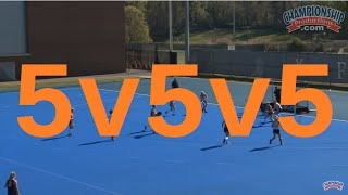 Open Practice with Michele Madison & Virginia Field Hockey - Clip 1