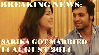 বিয়ে হয়ে গেল আলোচিত মডেল শারিকার। Model Actress Sarika Got Married