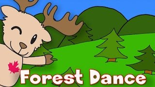 Forest Dance | Animal Song for Kids