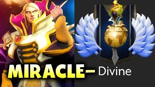 Miracle- NEW MMR CALIBRATION!  - Road to DIVINE DOTA 2