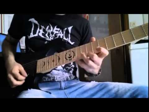 METALLICA - Master Of Puppets - guitar solo cover