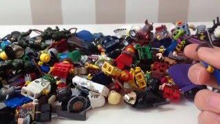 Что в Моем Лего Сундучке? Показ Всех Фигурок! Обзор (Review)