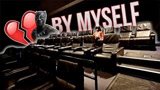 I WENT TO SEE BLACK PANTHER ALL BY MYSELF...💔| The Aqua Family